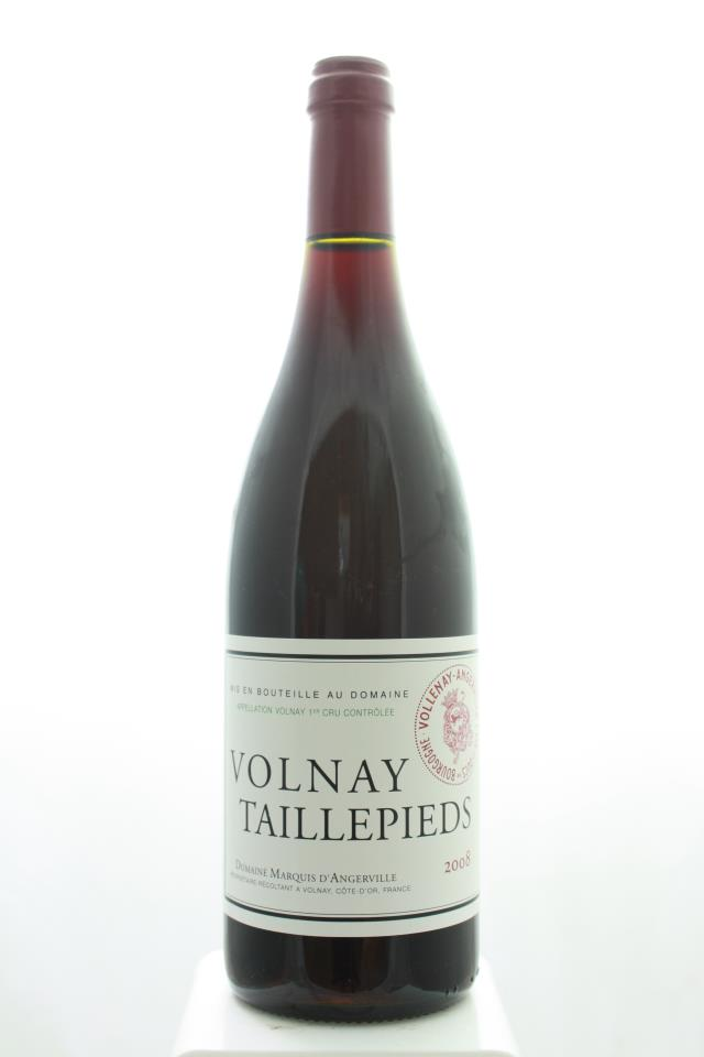 Marquis d'Angerville Volnay Taillepieds 2008