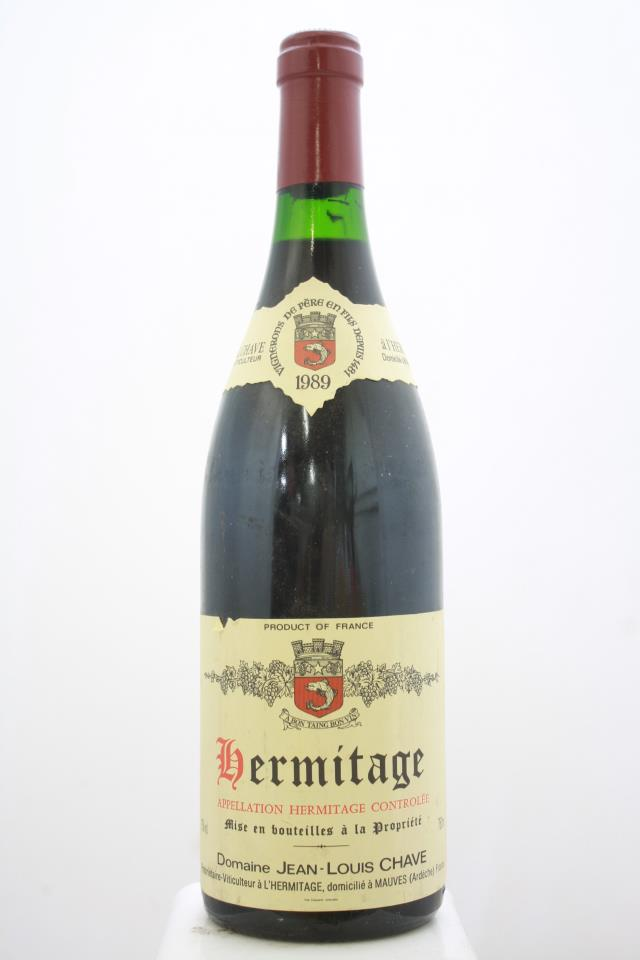 Domaine Jean-Louis Chave Hermitage 1989