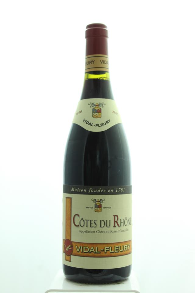 Vidal-Fleury Cotes du Rhone 2010