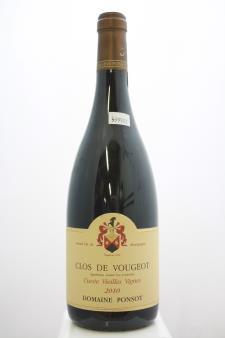 Domaine Ponsot Clos de Vougeot Cuvée Vieilles Vignes 2010