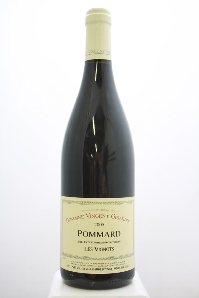 Vincent Girardin (Domaine) Pommard Les Vignots 2005
