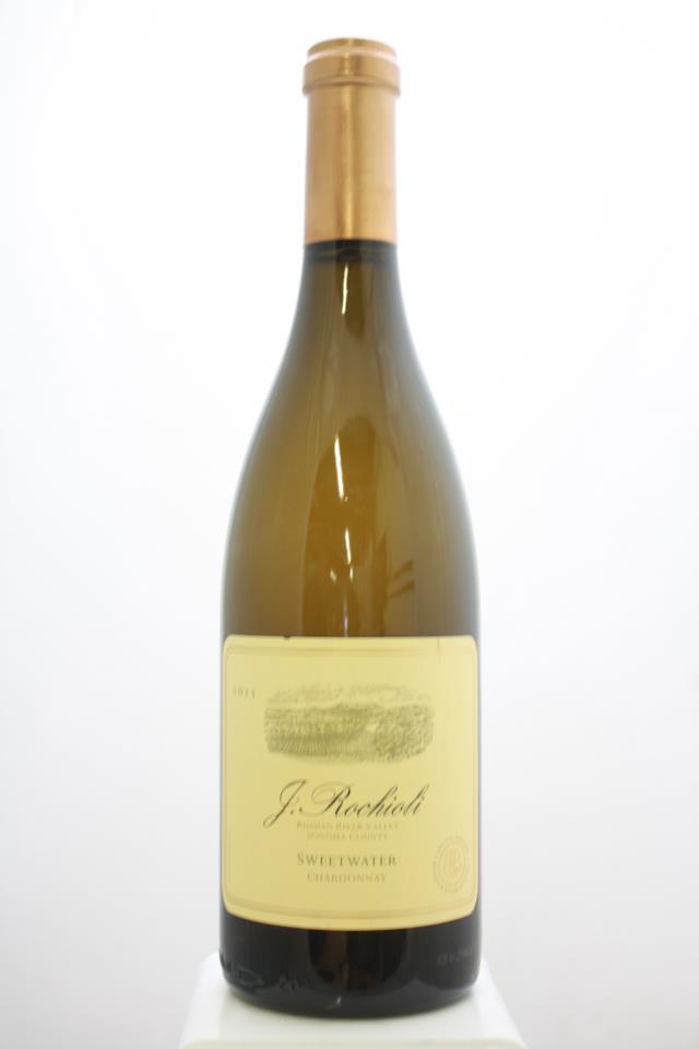 J. Rochioli Chardonnay Sweetwater Vineyard 2015
