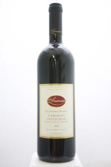 De Lorimier Cabernet Sauvignon Crazy Creek Vineyard 2005