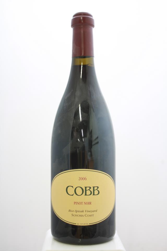 Cobb Pinot Noir Rice-Spivak Vineyard 2006