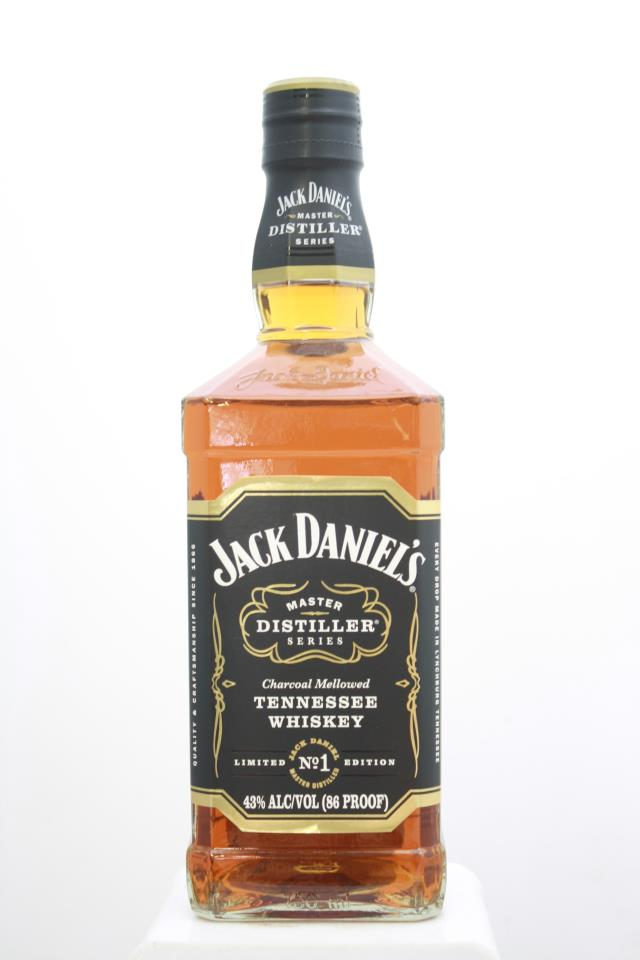 Jack Daniel's Charcoal Mellowed Tennessee Whiskey Limited Edition No.1 NV
