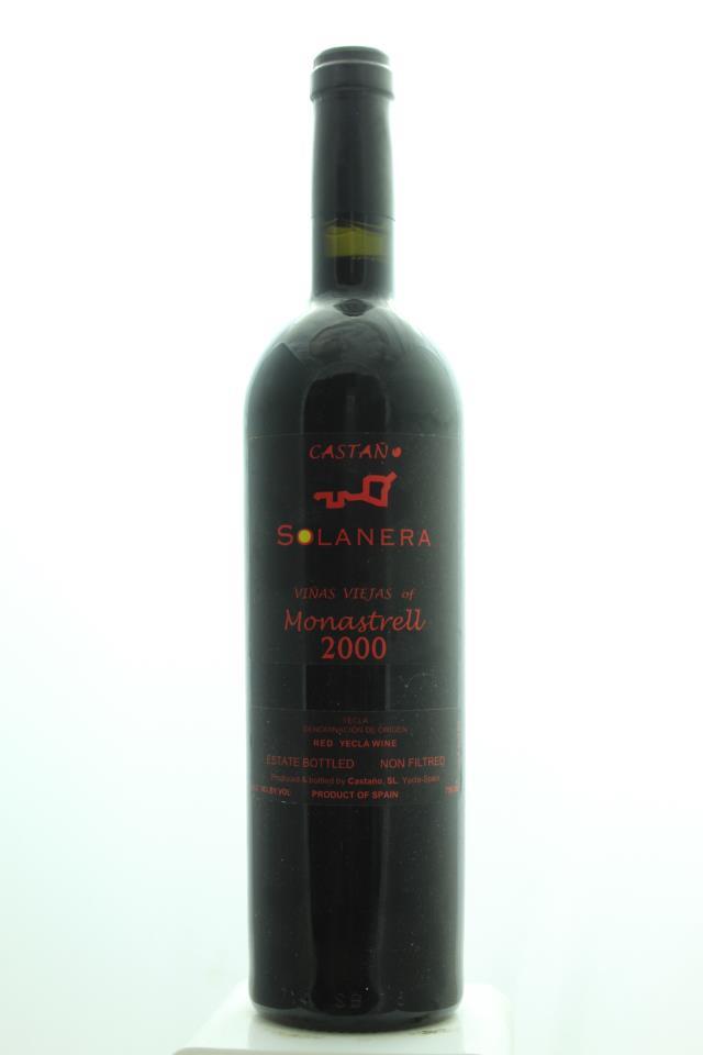 Castaño Solanera Monastrell Viñas Viejas 2000