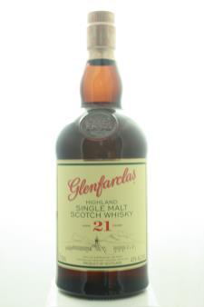 J&G Grant Glenfarclas Single Highland Malt Scotch Whisky 21-Years-Old NV
