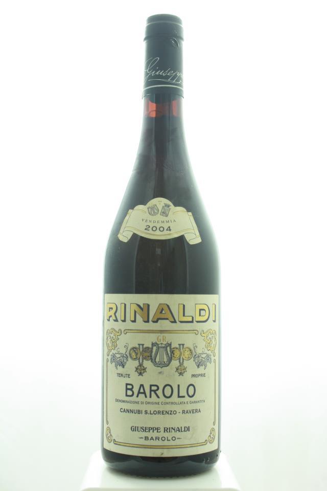 Giuseppe Rinaldi Barolo Cannubi San Lorenzo / Ravera 2004