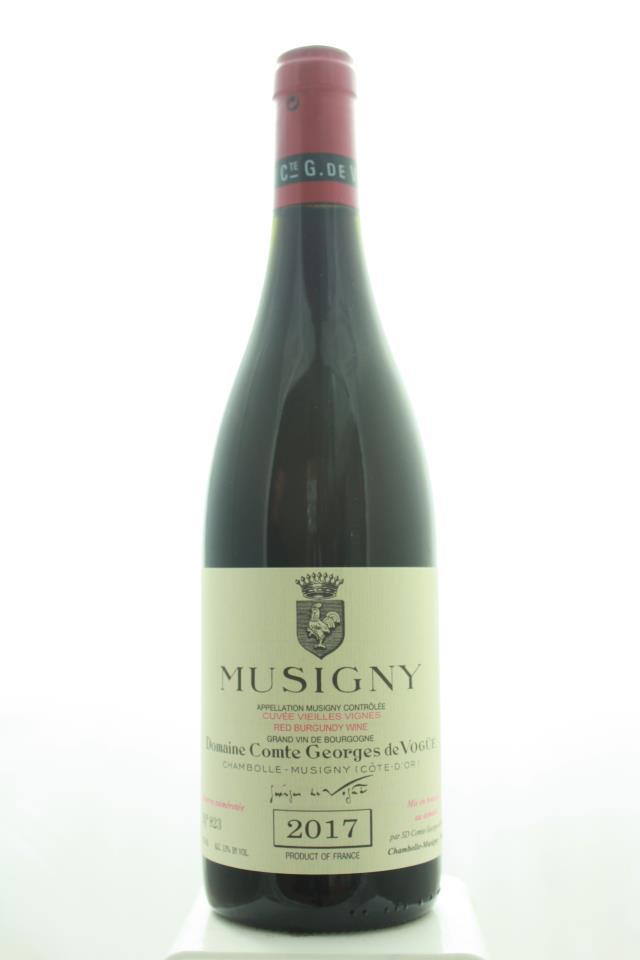Comte Georges de Vogüé Musigny Cuvée Vieilles Vignes 2017