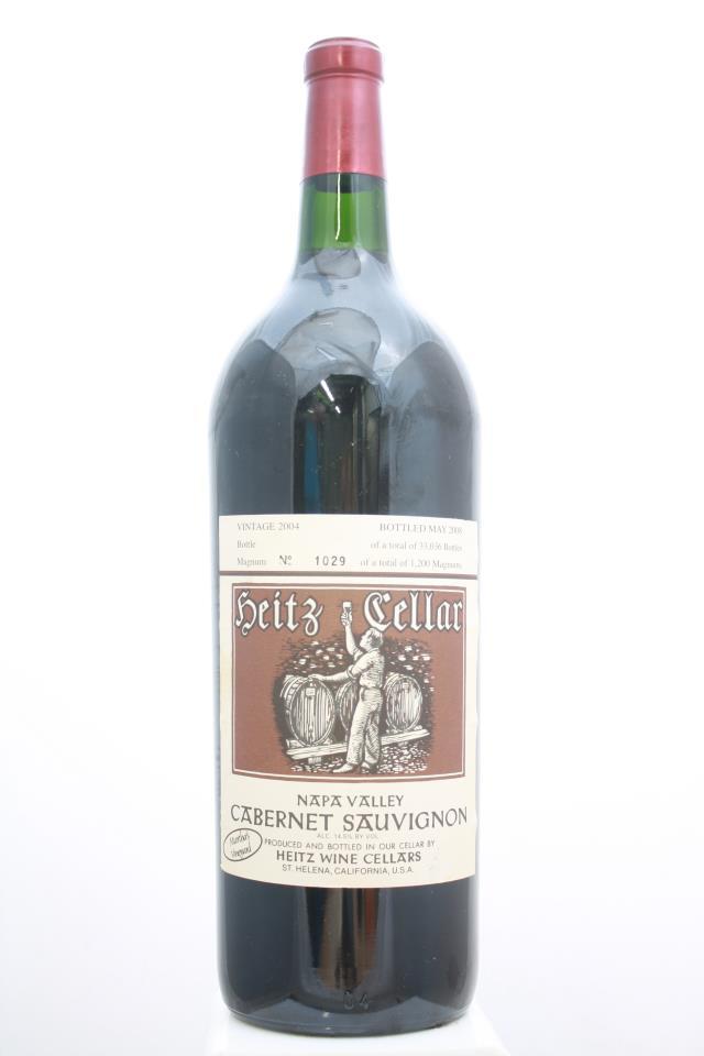 Heitz Cellar Cabernet Sauvignon Martha's Vineyard 2004