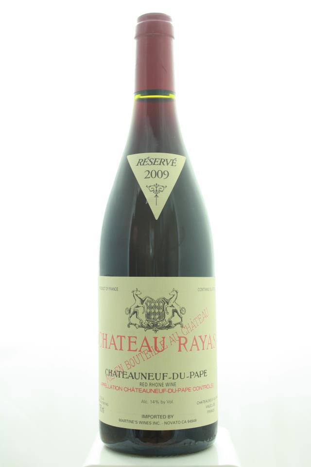 Château Rayas Châteauneuf du Pape Cuvée Réservé 2009