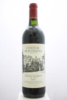Chateau Montelena Cabernet Sauvignon The Montelena Estate 1995