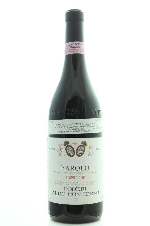 Aldo Conterno Barolo Bussia 2001