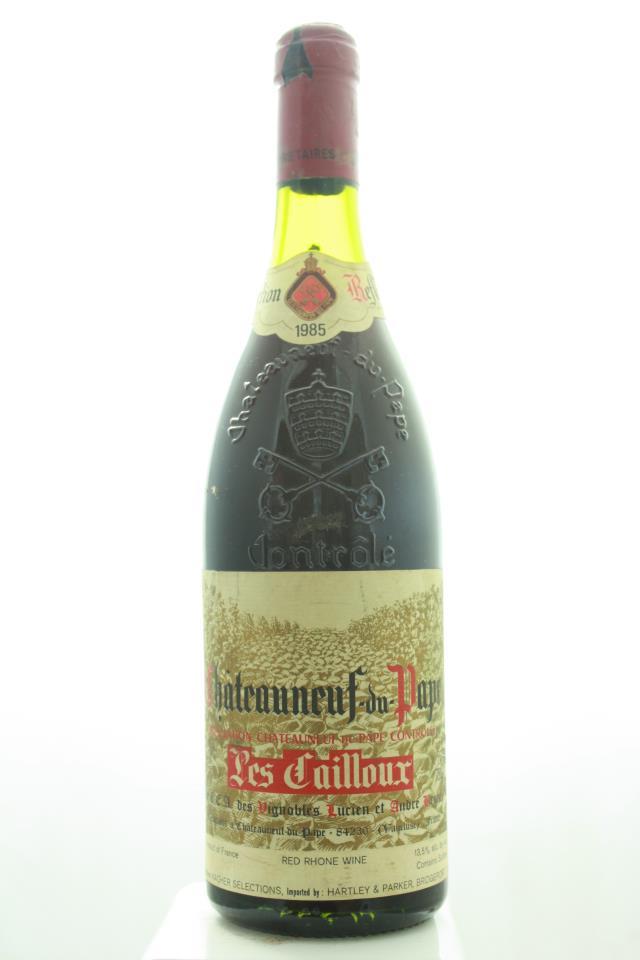 Les Cailloux Châteauneuf-du-Pape 1985