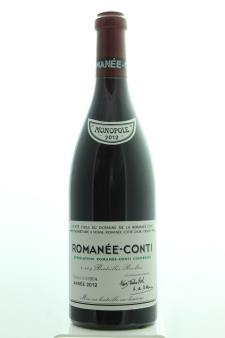 Domaine de la Romanée-Conti Romanée-Conti 2012