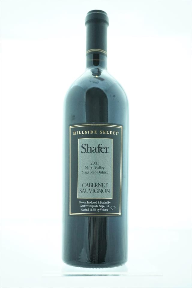 Shafer Cabernet Sauvignon Hillside Select 2001