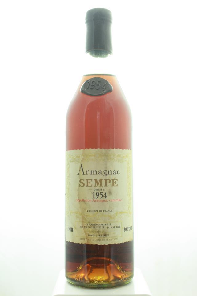Sempe Armagnac 1954