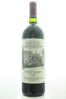 Chateau Montelena Cabernet Sauvignon The Montelena Estate 2000