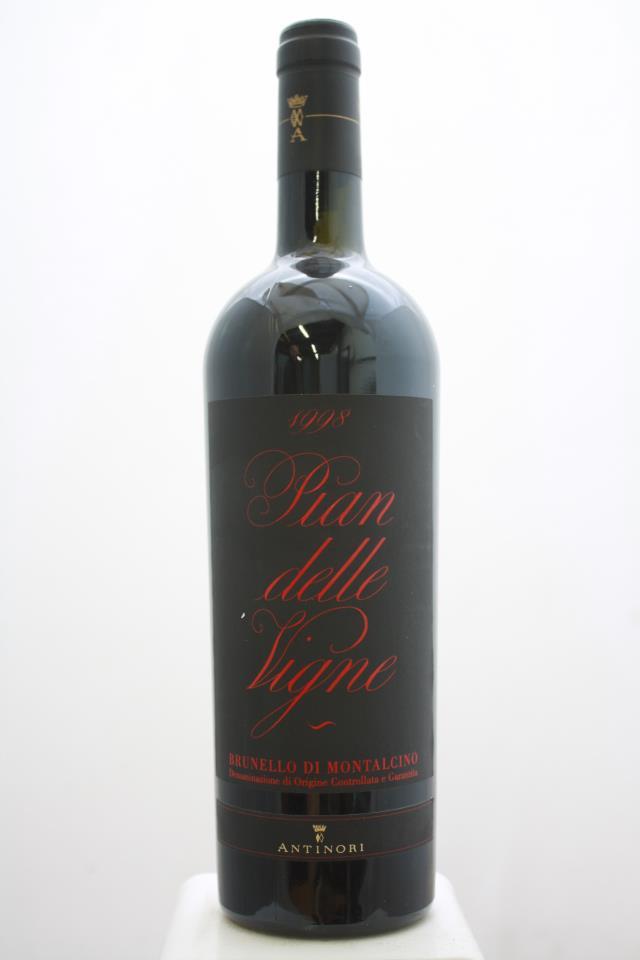 Antinori Brunello di Montalcino Pian delle Vigne 1998