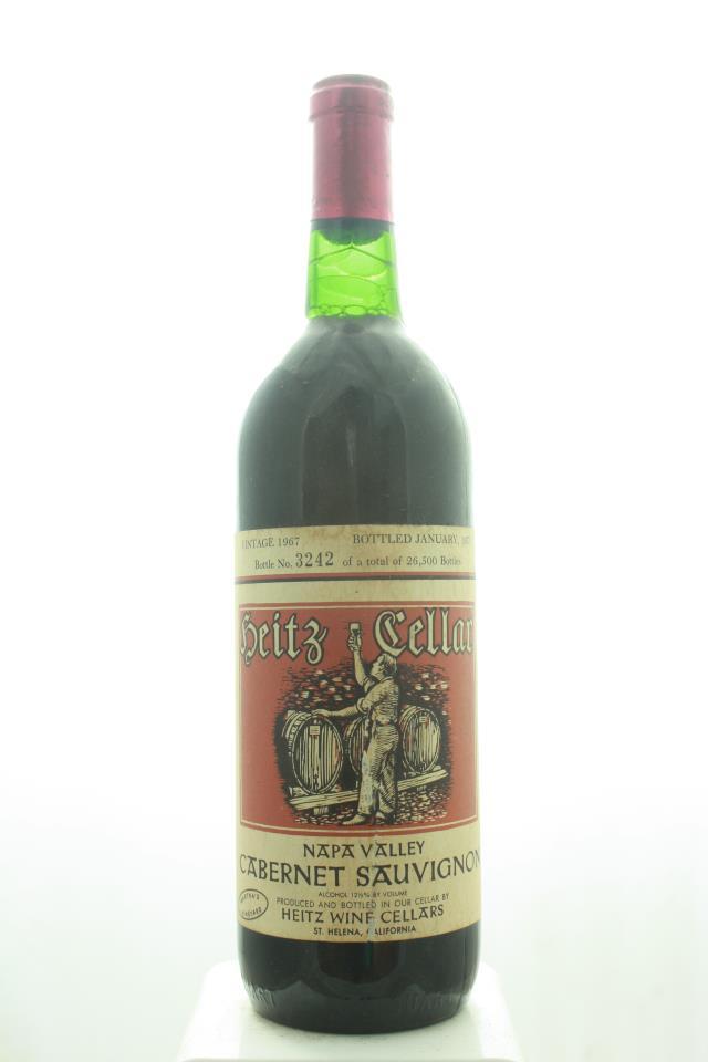 Heitz Cellar Cabernet Sauvignon Martha's Vineyard 1967