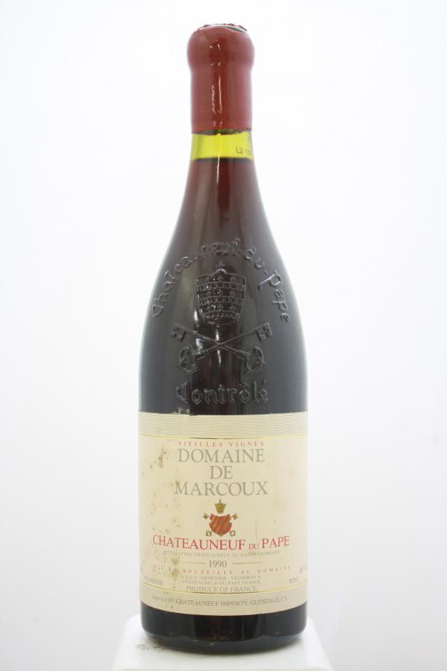 Domaine de Marcoux Châteauneuf-du-Pape Vieilles Vignes 1990