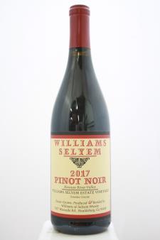 Williams Selyem Pinot Noir Willimas Selyem Estate Vineyard 2017