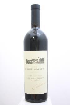 Robert Mondavi Cabernet Sauvignon To Kalon Vineyard Reserve 2001