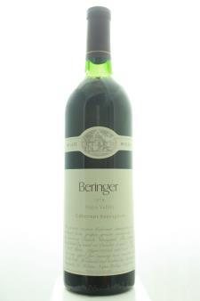 Beringer Vineyards Cabernet Sauvignon Private Reserve 1978