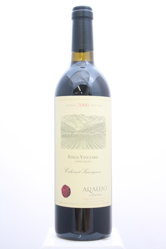 Araujo Estate Cabernet Sauvignon Eisele Vineyard 2000