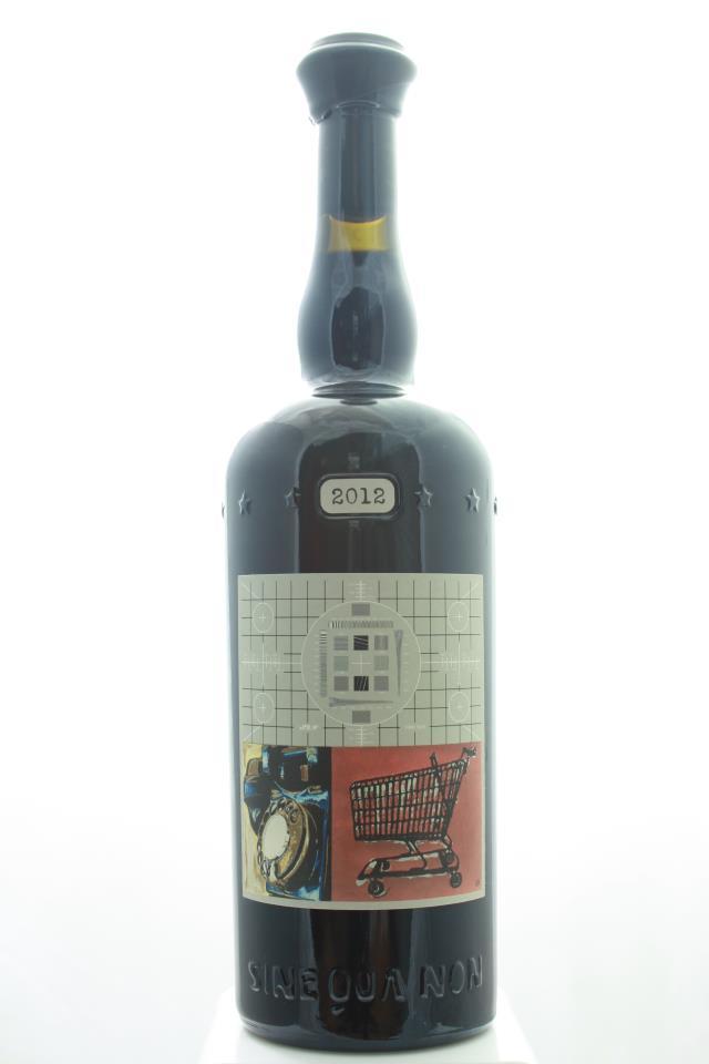 Sine Qua Non Grenache Estate Eleven Confessions Vineyard Rattrapante 2012