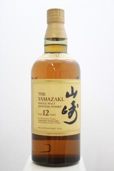 Suntory The Yamazaki Single Malt Japanese Whisky 12-Year-Old NV