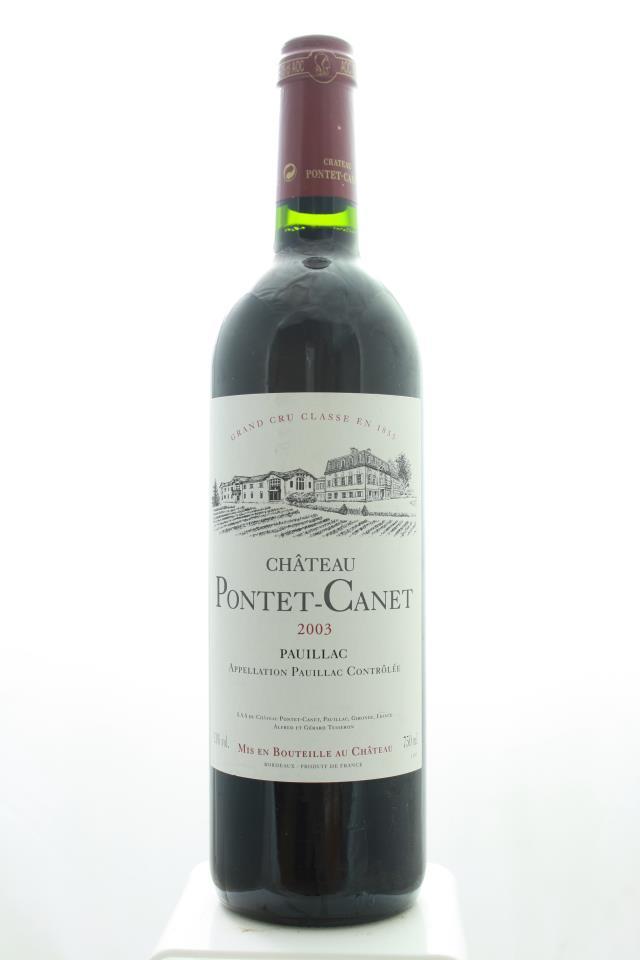 Pontet-Canet 2003
