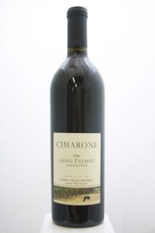 Cimarone Sangiovese Gran Premio Three Creek Vineyard 2006