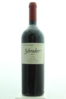 Schrader Cabernet Sauvignon Beckstoffer To Kalon Vineyard RBS 2008