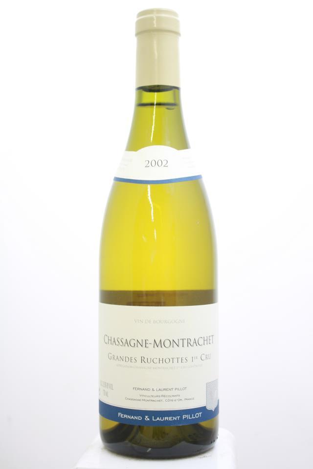 Fernand & Laurent Pillot Chassagne Montrachet Grandes Ruchottes 2002