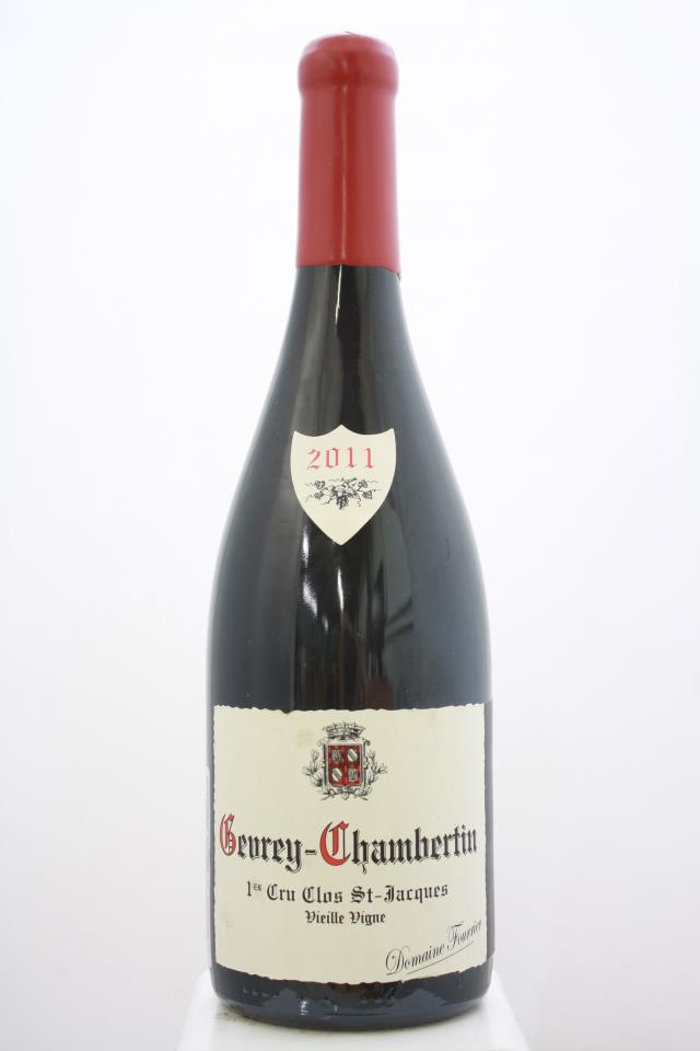 Domaine Fourrier Gevrey-Chambertin Clos St. Jacques Vieille Vigne 2011