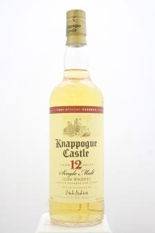 Knappogue Castle Single Malt Irish Whiskey 12-Years-Old Special Reserve NV