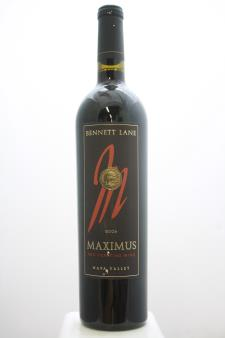 Bennett Lane Proprietary Red Maximus 2006