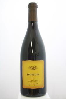 Donum Pinot Noir Estate Russian River Single Vineyard 2013