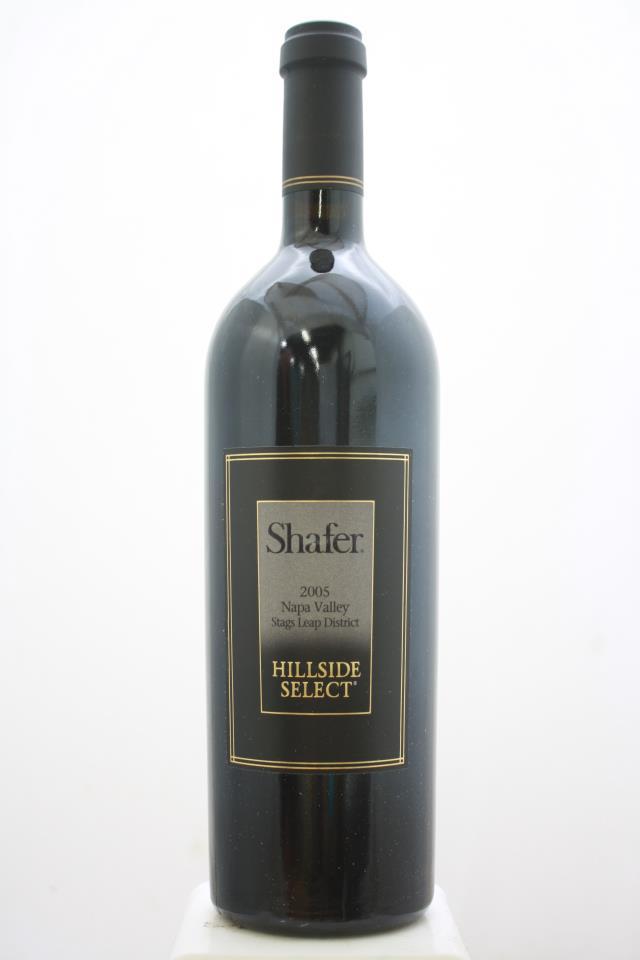 Shafer Cabernet Sauvignon Hillside Select 2005