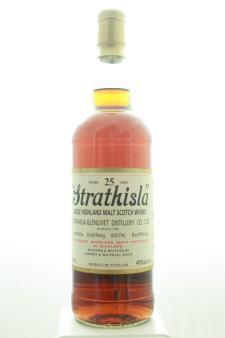 "Strathisla Distillery (Gordon & Macphail Selected) Single Highland Malt Scotch Whisky ""Strathisla"" 25-Years-Old 1999"