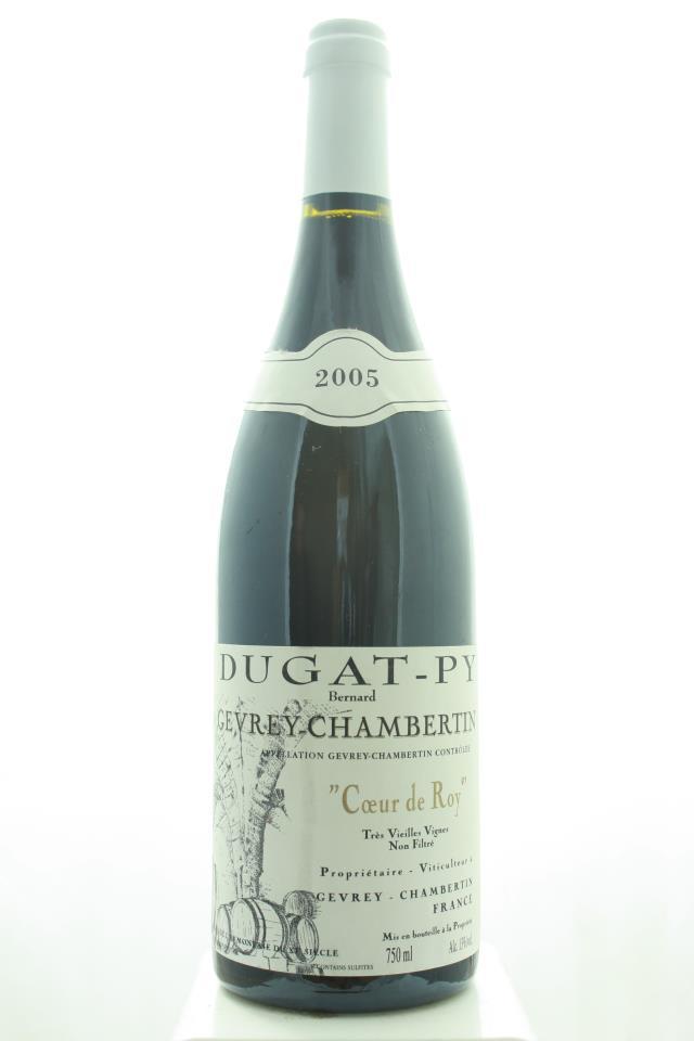 Dugat-Py Gevrey-Chambertin Cœur du Roy Très Vieilles Vignes 2005