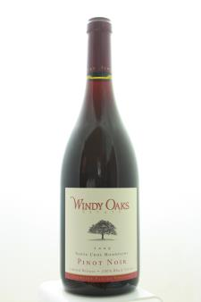 Windy Oaks Estate Pinot Noir Schultze Family Vineyard Limited Release 100% Whole Cluster 2009