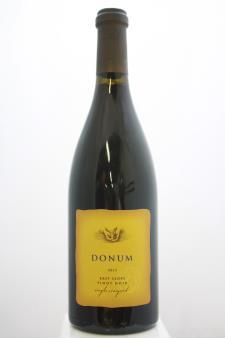 Donum Pinot Noir East Slope Single Vineyard 2013