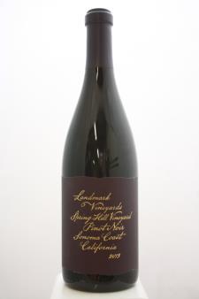Landmark Vineyards Pinot Noir Spring Hill Vineyard 2013