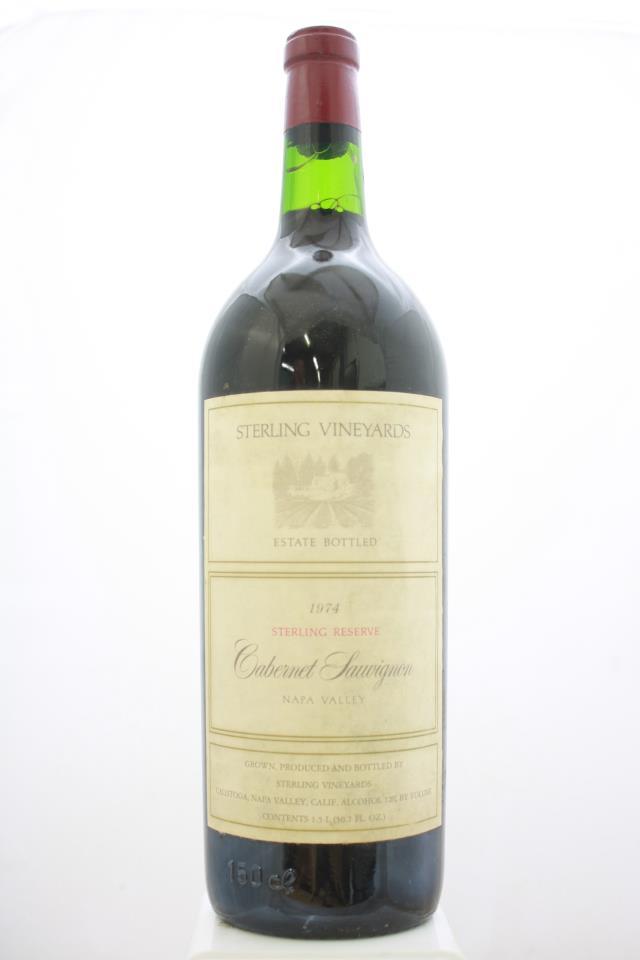 Sterling Vineyards Cabernet Sauvignon Sterling Reserve 1974