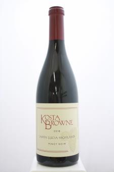 Kosta Browne Pinot Noir Santa Lucia Highlands 2018