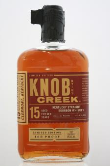 Knob Creek Kentucky Straight Bourbon Whiskey 15-Years-Old Limited Edition NV