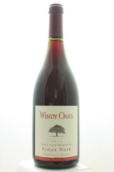 Windy Oaks Estate Pinot Noir Schultze Family Vineyard Proprietor