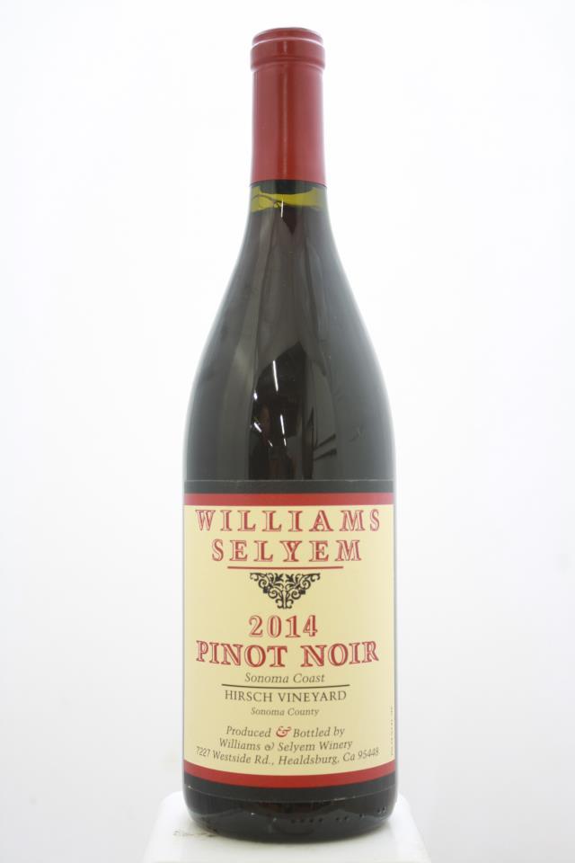 Williams Selyem Pinot Noir Hirsch Vineyard 2014